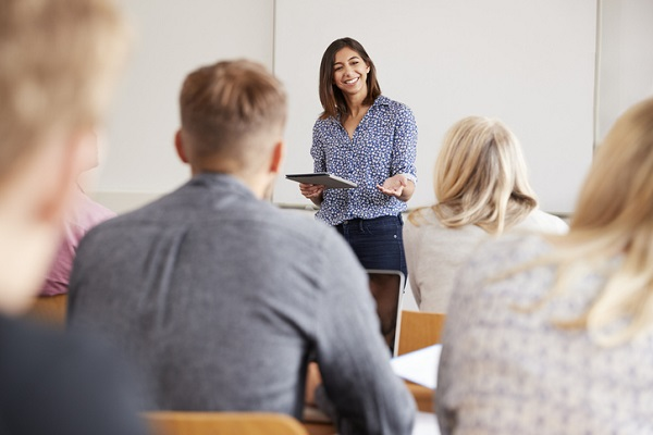 Certified trainers are taught how to plan lessons and manage class time