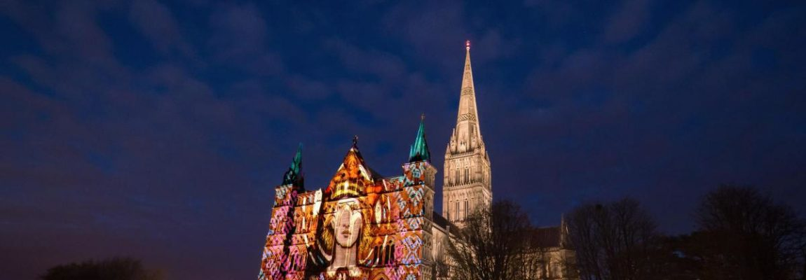 Sarum Lights – a light and sound spectacular at Salisbury Cathedral